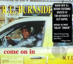 Burnside, R.L. - Come on In CD Cover Art