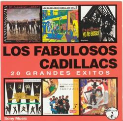 Los Fabulosos Cadillacs - 20 Grandes Exitos CD Cover Art