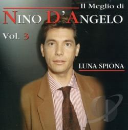 D'Angelo, Nino - Luna Spiona CD Cover Art