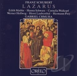 Royal Symp / Stuttgart - Schubert: Lazarus CD Cover Art