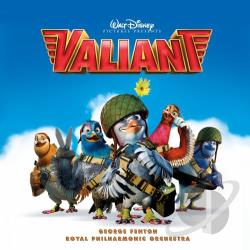 Fenton, George - Valiant CD Cover Art