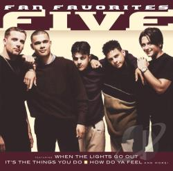 5ive - Fan Favorites CD Cover Art