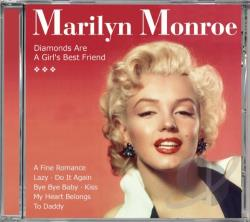 Monroe, Marilyn - Diamonds Are A Girl's CD Cover Art