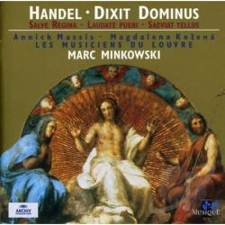 Handel / Kozena / Minkowski - Handel: Dixit Dominus in G minor CD Cover Art
