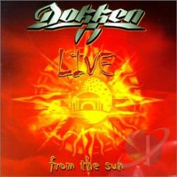 Dokken - Live from the Sun: Best from the West CD Cover Art