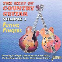 Flying Fingers, Vol. 1: The Best of Country Guitar CD Cover Art