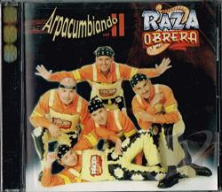 Raza Obrera - Arpacumbiando Vol. II CD Cover Art