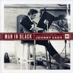 Cash, Johnny - Man In Black: Very Best Of CD Cover Art
