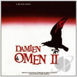 Goldsmith, Jerry - Damien Omen 2-A Black Mass CD Cover Art