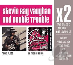 Vaughan, Stevie Ray - Texas Flood/In the Beginning CD Cover Art