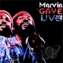 Gaye, Marvin - Live! CD Cover Art