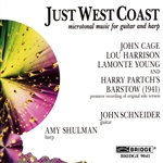 Cage / Harrison / Schneider, A. / Schulman / Young - Just West Coast CD Cover Art