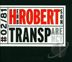 Robertson, Herb - Transparency CD Cover Art
