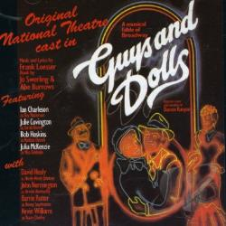 Original National Theater Cast - Guys and Dolls (Original National Theatre Cast) CD Cover Art