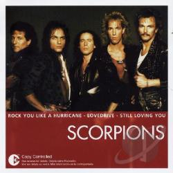 Scorpions - Essential CD Cover Art