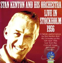 Kenton, Stan - Live in Stockholm CD Cover Art