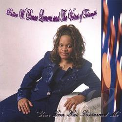 Anointed Music ministry of Pastor W. Denae Lemons and The Vo - Your Love Has Sustained Me CD Cover Art