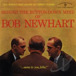 Newhart, Bob - Behind the Button-Down Mind of Bob Newhart CD Cover Art