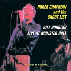 Chapman, Roger - Riff Burglars/Live at Munster Hall CD Cover Art