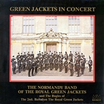 Normandy Band of The Royal Green Jackets - Green Jackets In Concert DB Cover Art