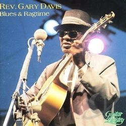 Davis, Rev. Gary - Blues & Ragtime CD Cover Art