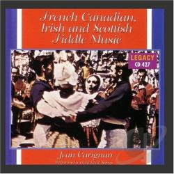Carignan, Jean - French Canadian, Irish & Scottish Fiddle Music CD Cover Art