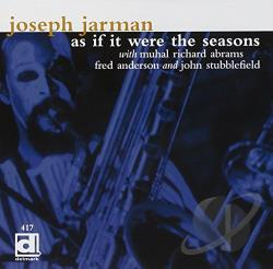 Jarman, Joseph - As If It Were the Seasons CD Cover Art
