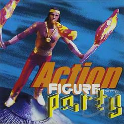 Action Figure Party CD Cover Art