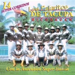 Los Pajaritos De Tacupa Michoacan - 14 Super Exitos CD Cover Art