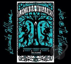 Williams, Lucinda - Live @ the Fillmore CD Cover Art
