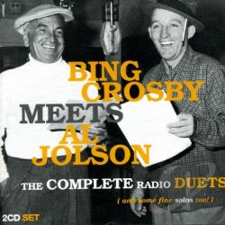 Crosby, Bing - Bing Crosby Meets Al Jolson CD Cover Art