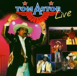 Astor, Tom - Live CD Cover Art