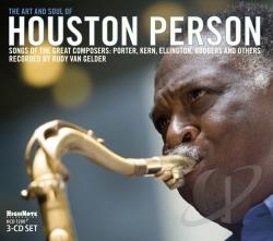 Person, Houston - Art and Soul of Houston Person CD Cover Art