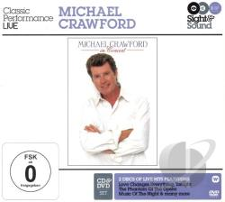 Crawford, Michael - In Concert CD Cover Art