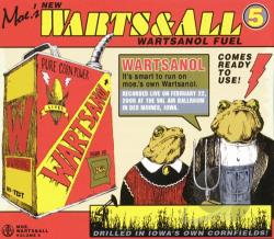 Moe - Warts & All Vol. 5 CD Cover Art