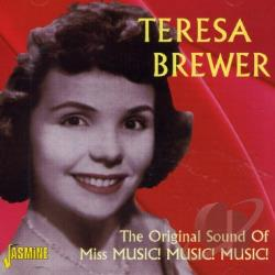 Brewer, Teresa - Original Sound of Miss Music Music Music CD Cover Art