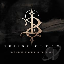 Skinny Puppy - Greater Wrong of the Right CD Cover Art