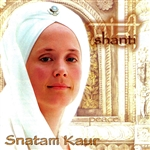 Snatam Kaur - Shanti CD Cover Art