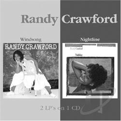 Crawford, Randy - Windsong/Nightline CD Cover Art