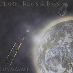 Lunarwave - Planet Beats & Bass CD Cover Art