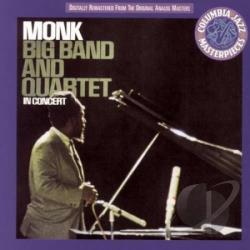 Monk, Thelonious - Big Band and Quartet in Concert CD Cover Art