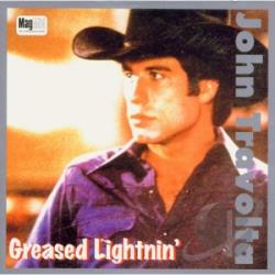 Travolta, John - Greased Lightning CD Cover Art