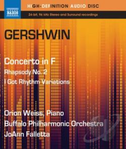 Buffalo Philharmonic Orch / Gershwin / Weiss - Gershwin: Concerto in F; Rhapsody No. 2; I Got Rhythm Variations BRAY Cover Art