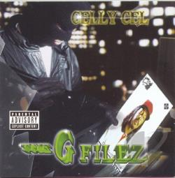 Celly Cel - G Filez CD Cover Art