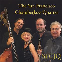 San Francisco Chamberjazz Quartet - SF.CJQ CD Cover Art