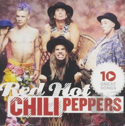 Red Hot Chili Peppers - 10 Great Songs CD Cover Art