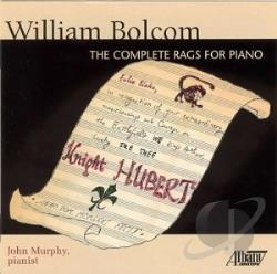 Murphy, John - William Bolcom: The Complete Rags for Piano CD Cover Art