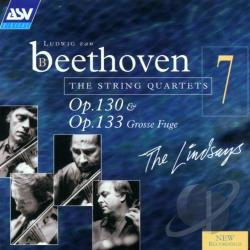 Beethoven, Ludwig Van - Beethoven: The String Quartets Vol 7 / The Lindsays CD Cover Art