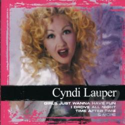 Lauper, Cyndi - Collections CD Cover Art
