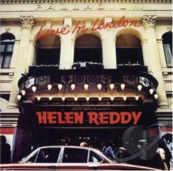 Reddy, Helen - Live in London CD Cover Art
